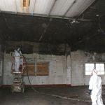 During Restoration - Fire Damage